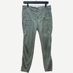 LOU & GREY Olive Green Lyocell Pant 8